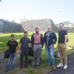 Craftsmen Team hanging around with their Norwegian team mates